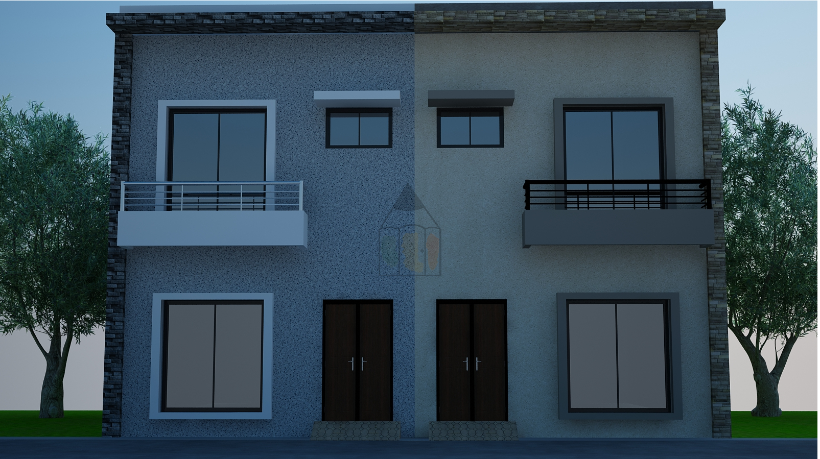3 marla house design for the dimensions which are very popular in pakistan especially lahore the front of this 3 marla house design is 18 ft and depth is