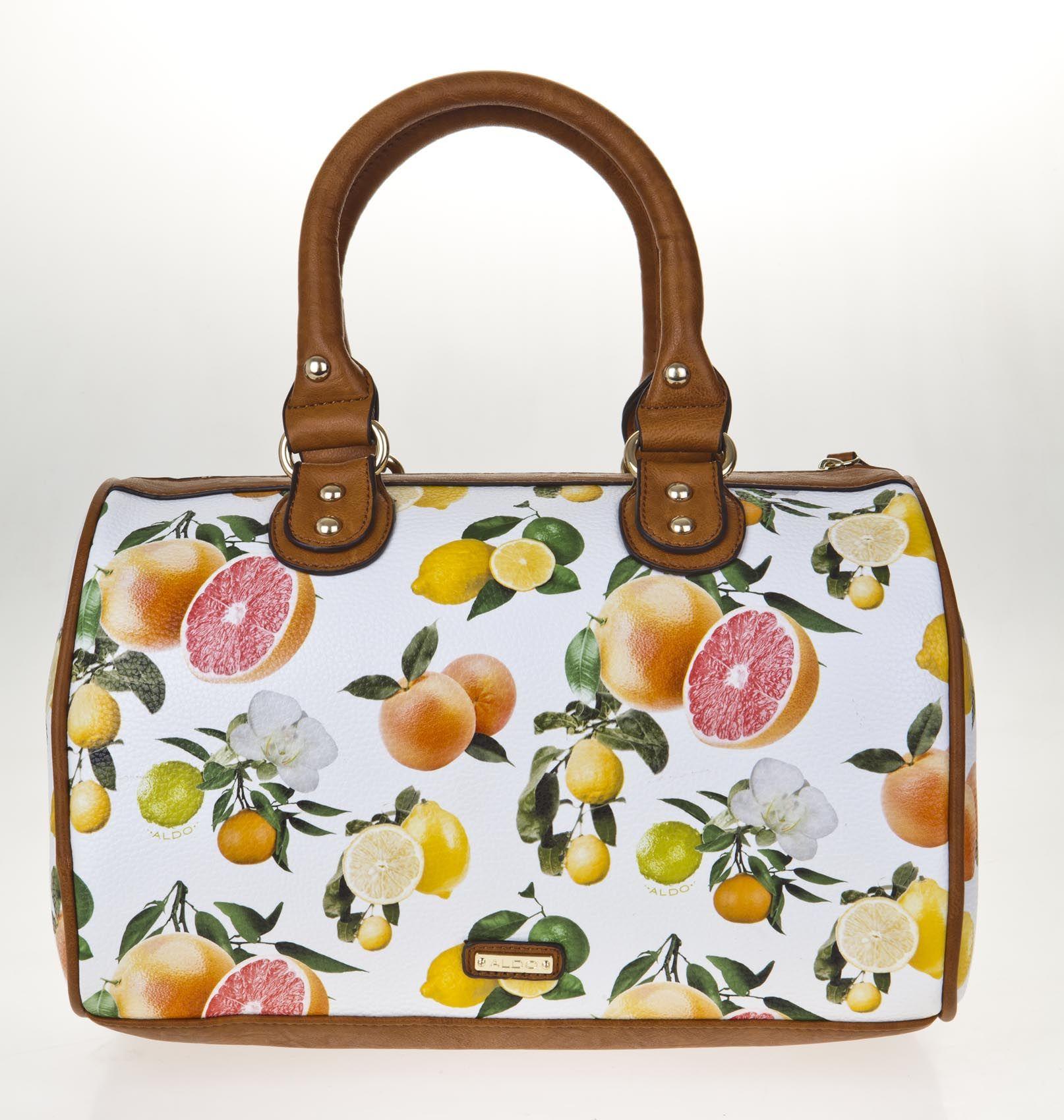 Fruit print bag from Aldo | GLAMOUR summer Pinterest project ...