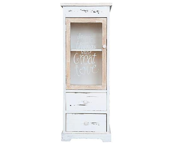 Mueble auxiliar para baño con puerta en madera Small things - altura ...