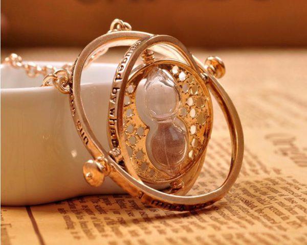 Unisex Vintage Elegant Time Turner Necklace Swallum In 2020 Harry Potter Necklace Harry Potter Jewelry Time Turner Necklace