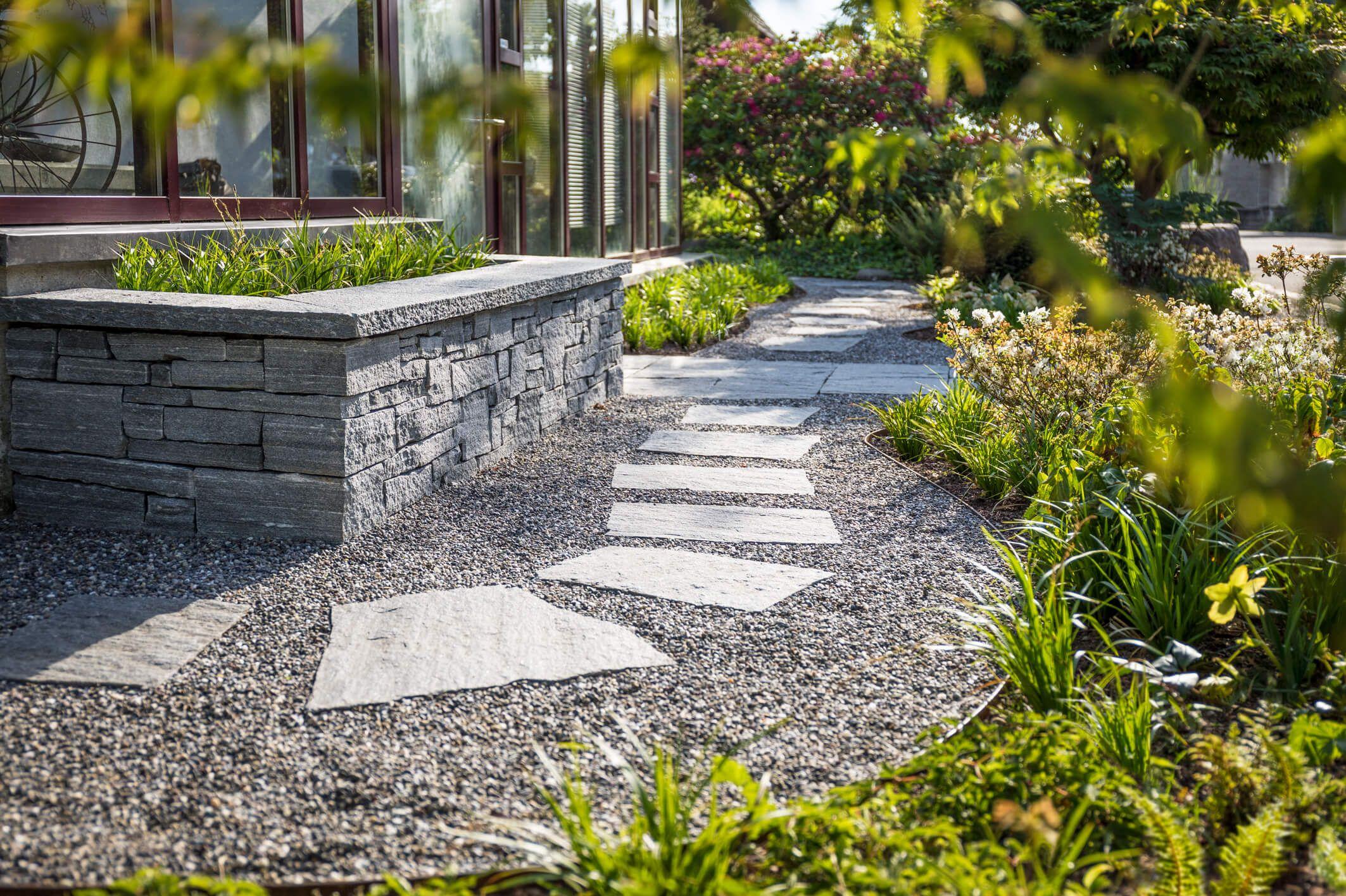 Schön Gartengestaltung Vorgarten Dekoration Von Asiatisch Angehauchter - Parc
