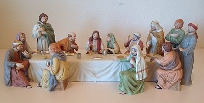 Home Interiors Lords Last Supper Greatest Stories Ever Told Series