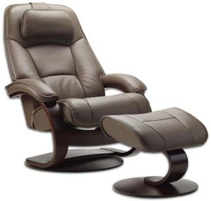 Fjords Admiral Ergonomic Leather C Frame Recliner Chair + Ottoman  Scandinavian Norwegian Lounge Chair. Hjellegjerde Norwegian Recliner Chair  Lounger ...