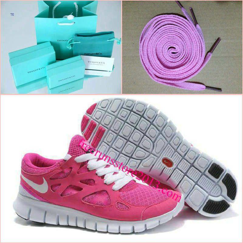 wholesale dealer 8604b 1746f Womens Nike Free Run 2 Pink White Shoes