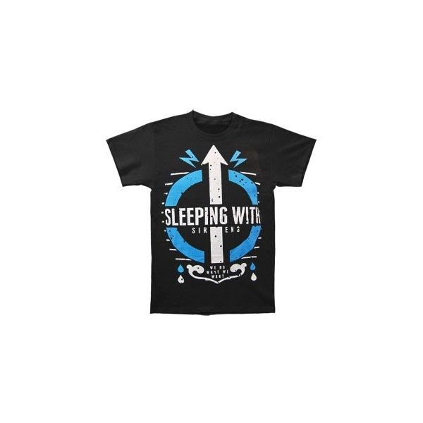 SLEEPING WITH SIRENS We Do What We Want T-shirt Rockabilia ($20) ❤ liked on Polyvore featuring intimates, sleepwear, pajamas, shirts, tops and t-shirts