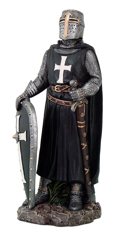 X-Mas Armadura Medieval usable Caballero Cruzado completo traje de armadura collectibl