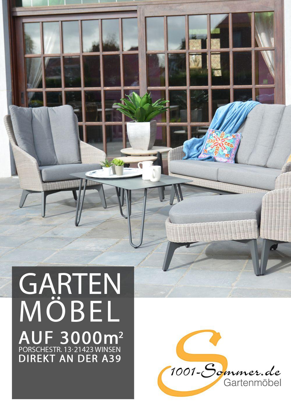 Luxor Lounge Aus Hularo Geflecht Trendiges Design Und Hochwertiger Komfort Gartenmobel Aussenmobel Mobel