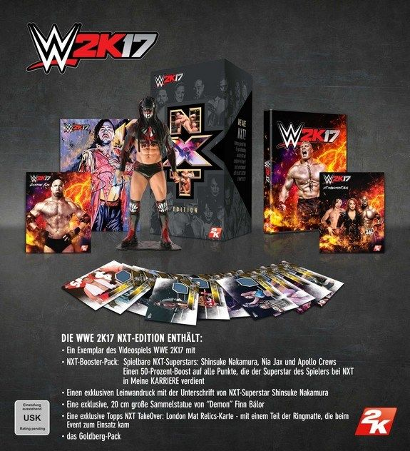 WWE 2K17 NXT Collectors Edition. Watch The Trailer. #wwe #2k17 #wwe2k17 #wrestling #gamenews #game