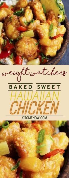 Weight Watchers Sweet Hawaiian Chicken