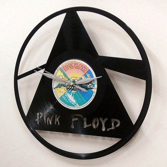Pink floyd wall art vinyl lp record clock or framed for Vinyl record wall art
