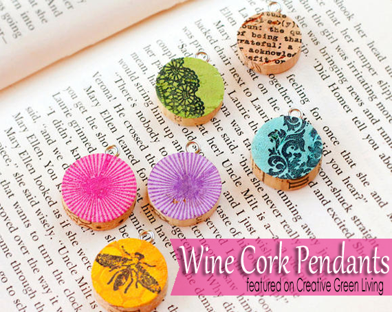 I love this wine cork project! So cute and it does not require hoarding wine corks forever!