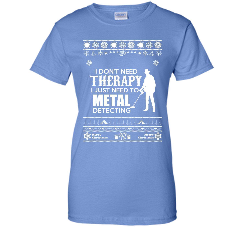 Merry Christmas Metal Detecting T-Shirt