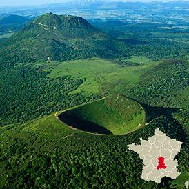 Auvergne d partements allier cantal haute loire puy de - Massif jardin japonais clermont ferrand ...
