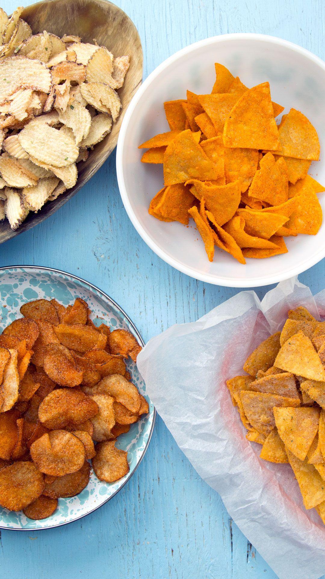 DIY Favorite Chips 4 ways