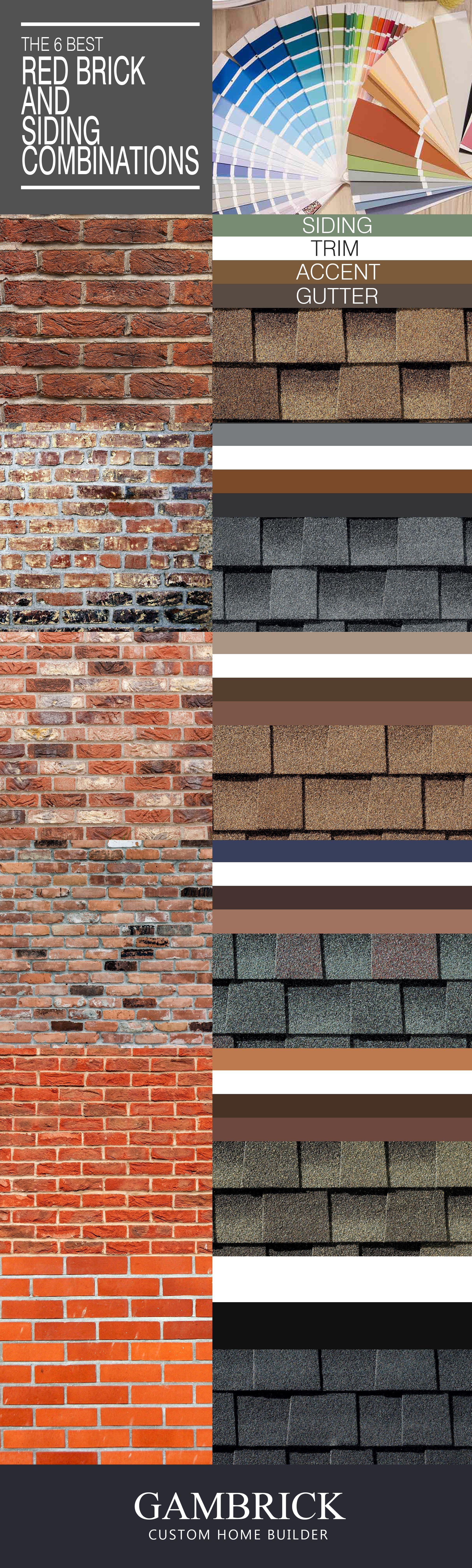 Best Red Brick Siding Color Combinations Brick House Exterior Colors Red Brick Exteriors Red Brick House Exterior