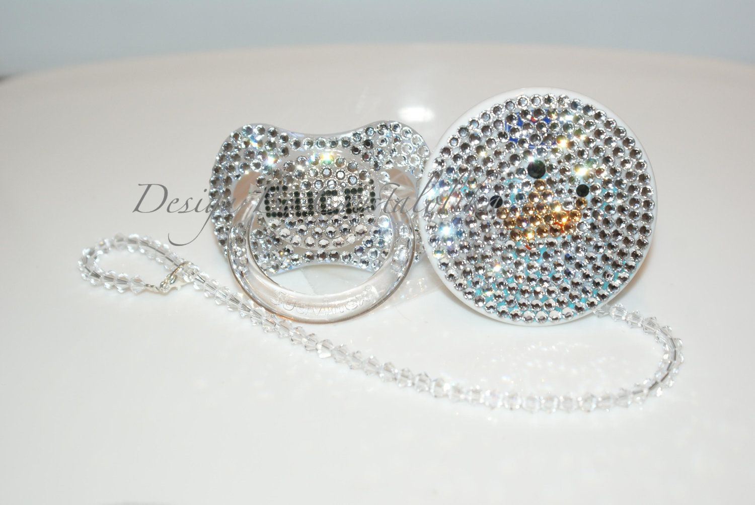 f2e1a956dab07 Baby Bling Pacifier Gucci made with Swarovski Crystal (Avent Philips) By  Crystalolika.  40.00