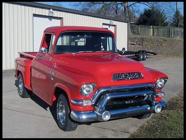 1955 Gmc Pickup For Sale By Mecum Auction Gmc Pickup Trucks Old