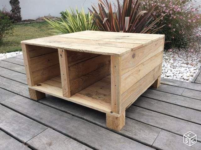 table en bois de palette ameublement gironde meubles palettes ameublement. Black Bedroom Furniture Sets. Home Design Ideas