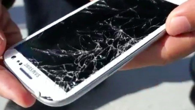 a #crackedphone and a cracked heart... cannot be fixed instantly.