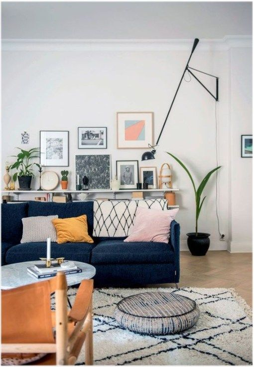 Currently Obsessing Velvet Blue Sofas Couches Living Room Living Room Scandinavian Living Room Sofa