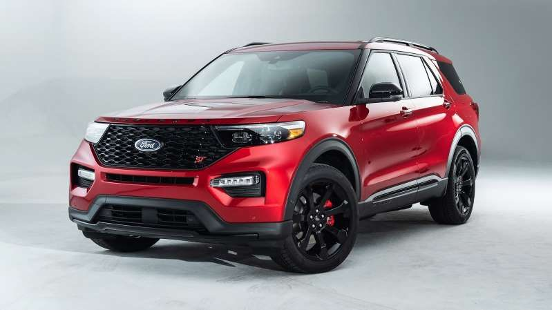 2020 Ford Explorer St With 400 Hp 2020 Ford Explorer Ford Explorer Ford Explorer Sport