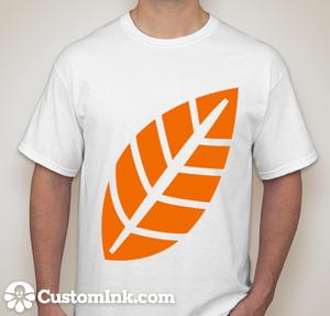 leaf designed online at http://www.customink.com