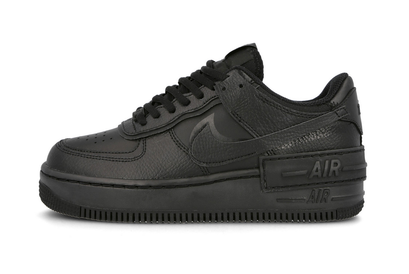 nike air force 1 shadow noir
