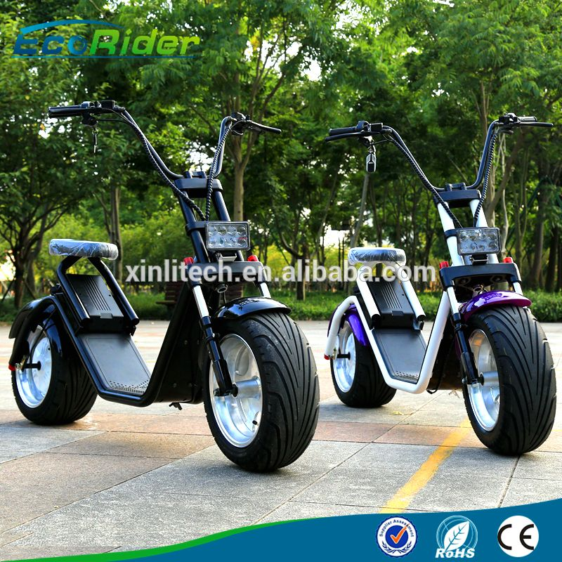 newest citycoco style electric scooter harley two wheel. Black Bedroom Furniture Sets. Home Design Ideas