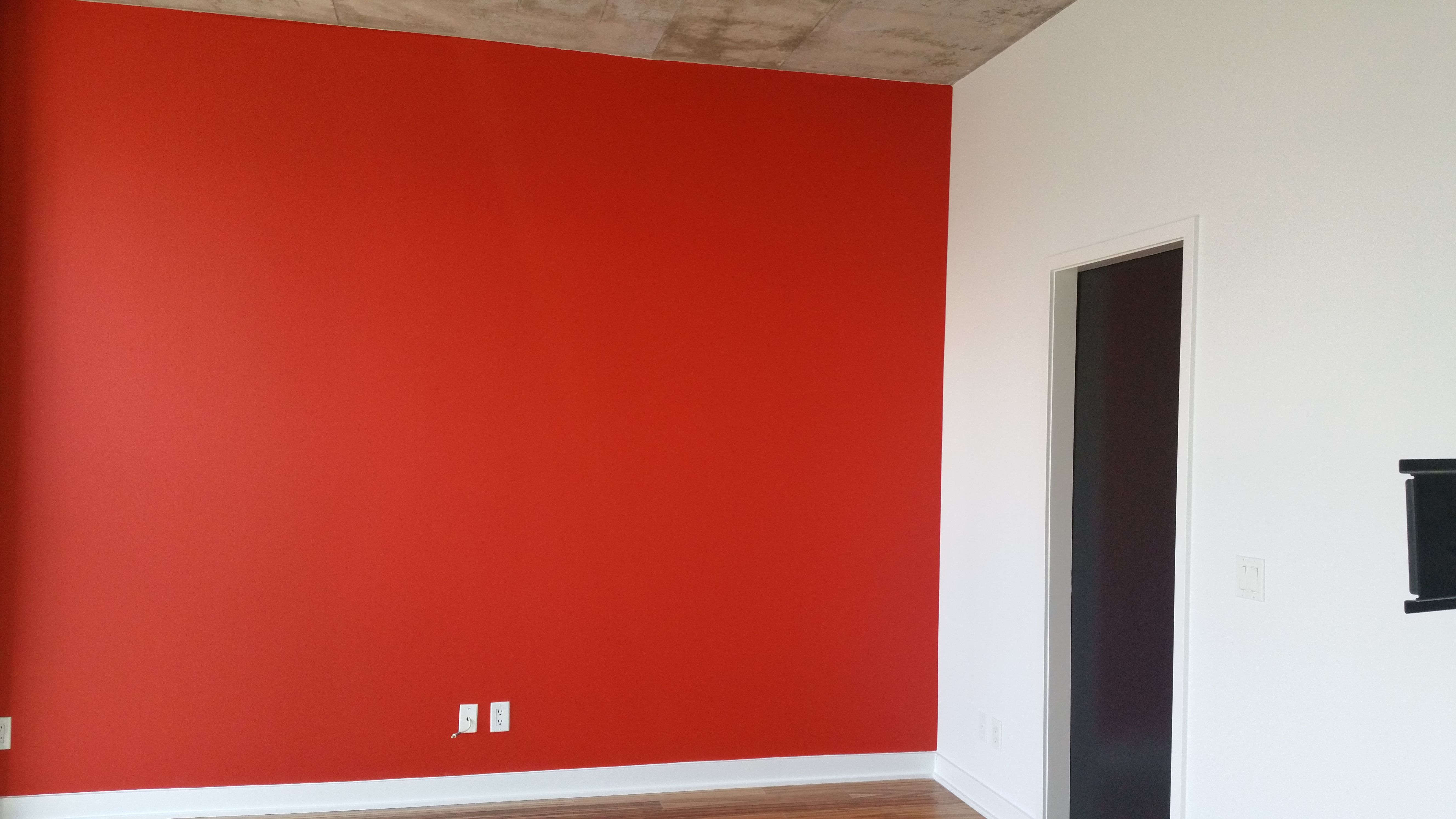 Benjamin Moore Million Dollar Red Painting Contractors Interiors World Of Color