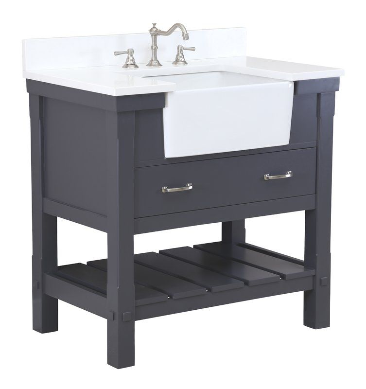 Charlotte 36 single bathroom vanity set 36 inch