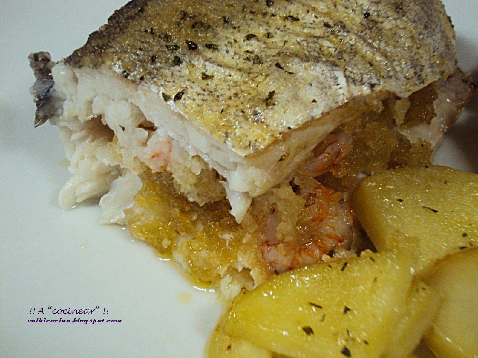 A cocinear merluza o pescadilla rellena al horno for Merluza rellena al horno