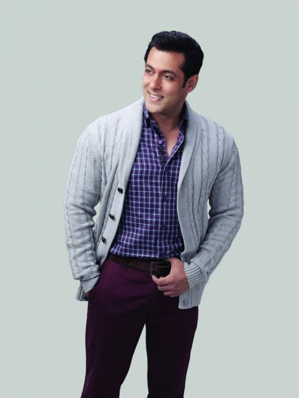 Salman Khan Photoshoot For Splash Autumn Winter 2013 Collection