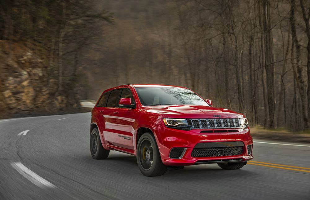 2018 Jeep Grand Cherokee Trackhawk V 2018 Bmw X5 M Jeep Grand