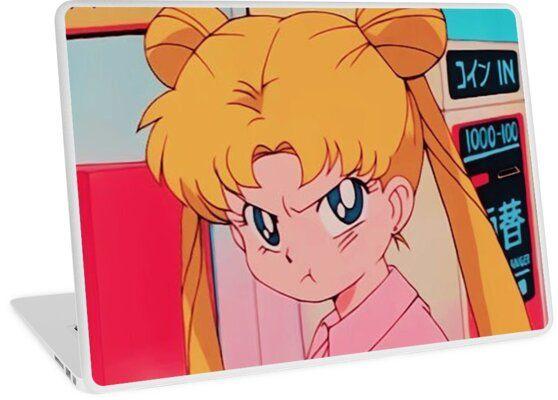 Sailor Moon Laptop Skin by Slidou