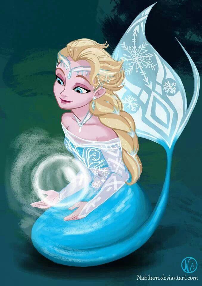 Elsa went to visit Ariel