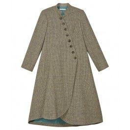 I NEED this coat!!! All of its loveliness!!! Tweed Swirly Hem Coat