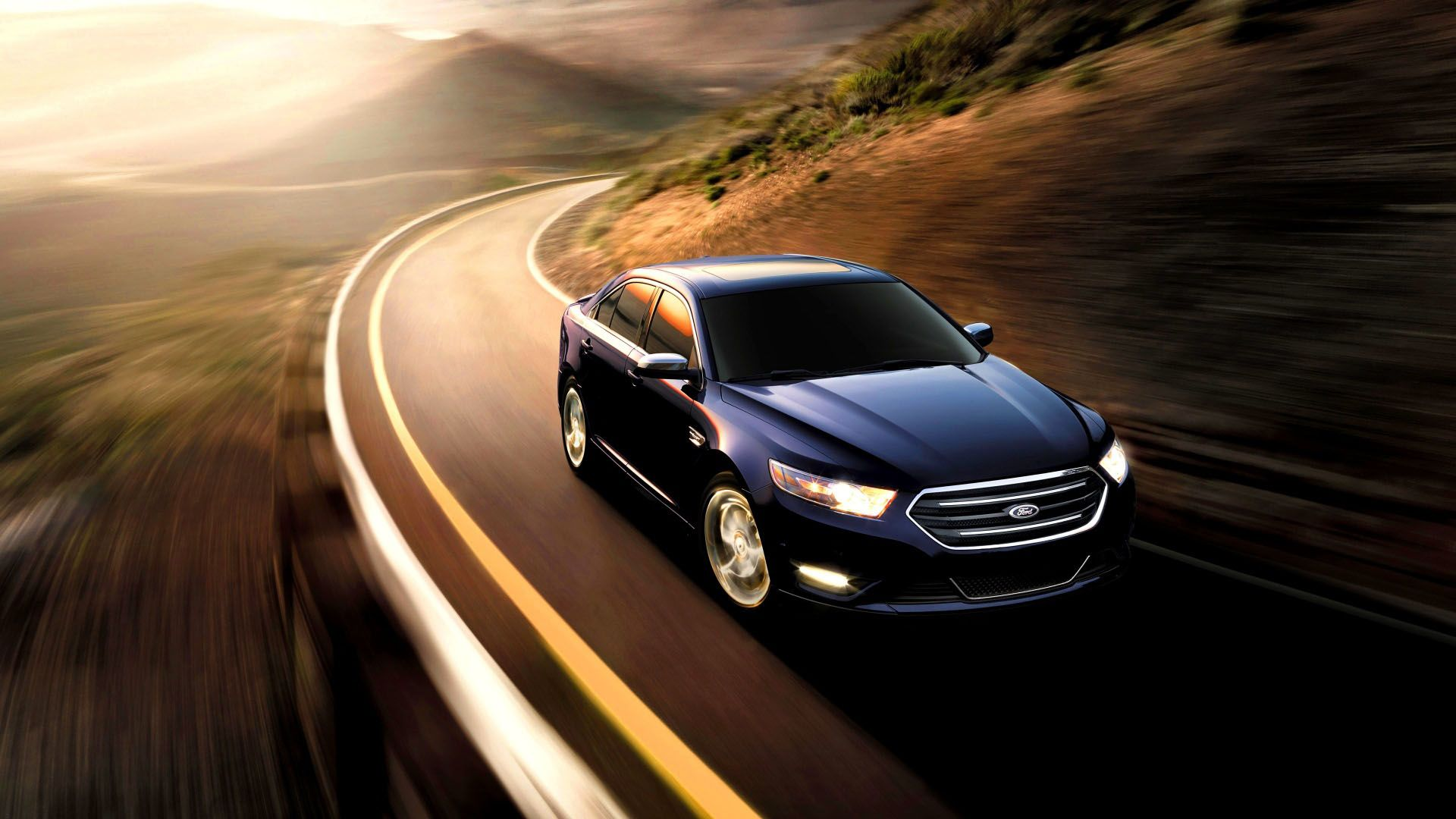 Ford Taurus Sho Black Car 2015 Desktop Backgrounds Taurus