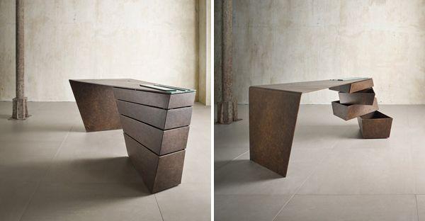 Designer Schreibtische designer schreibtisch dynamischen formen modernes design desks