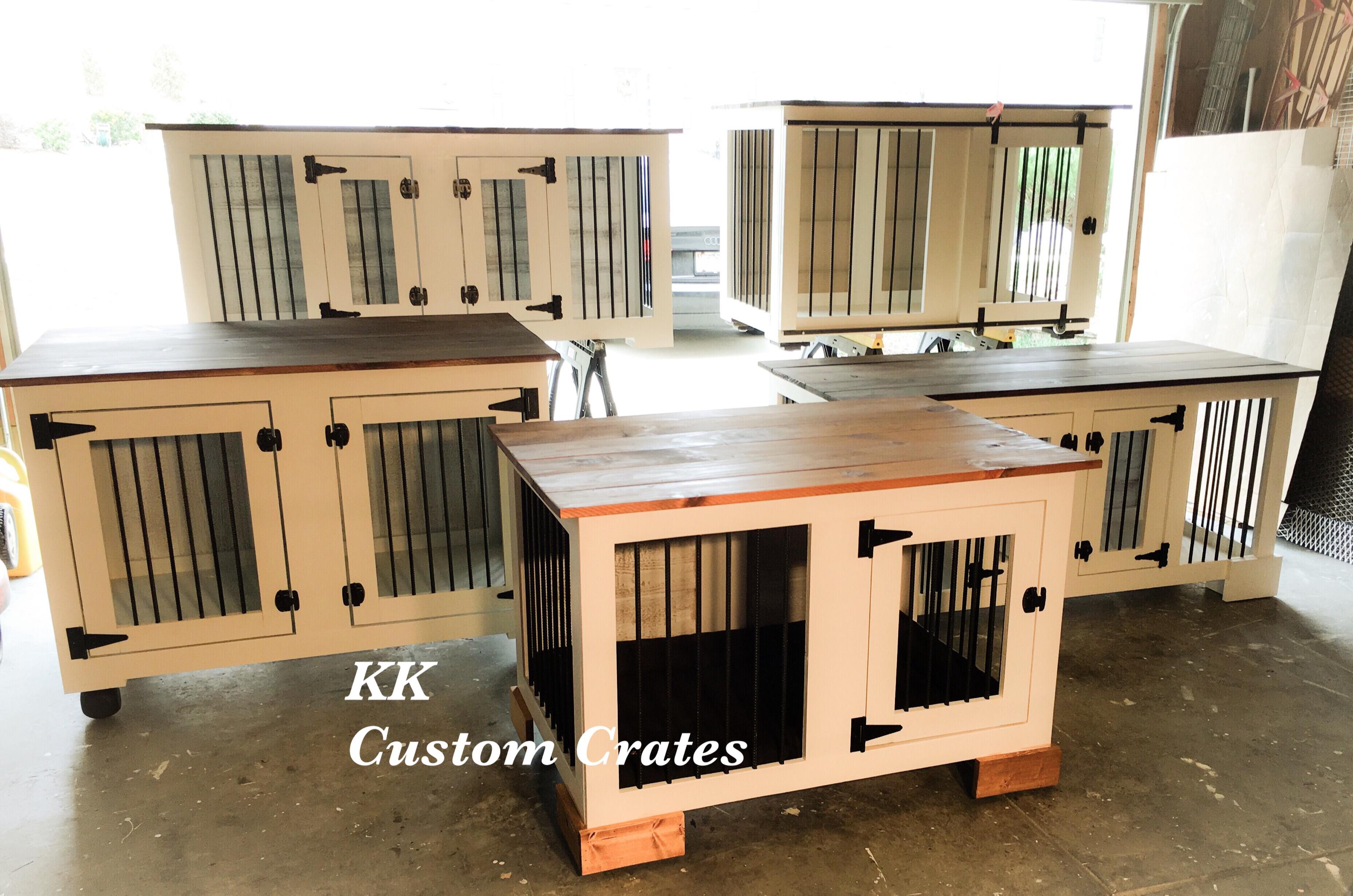 KK Custom Dog Crates Charlotte NC