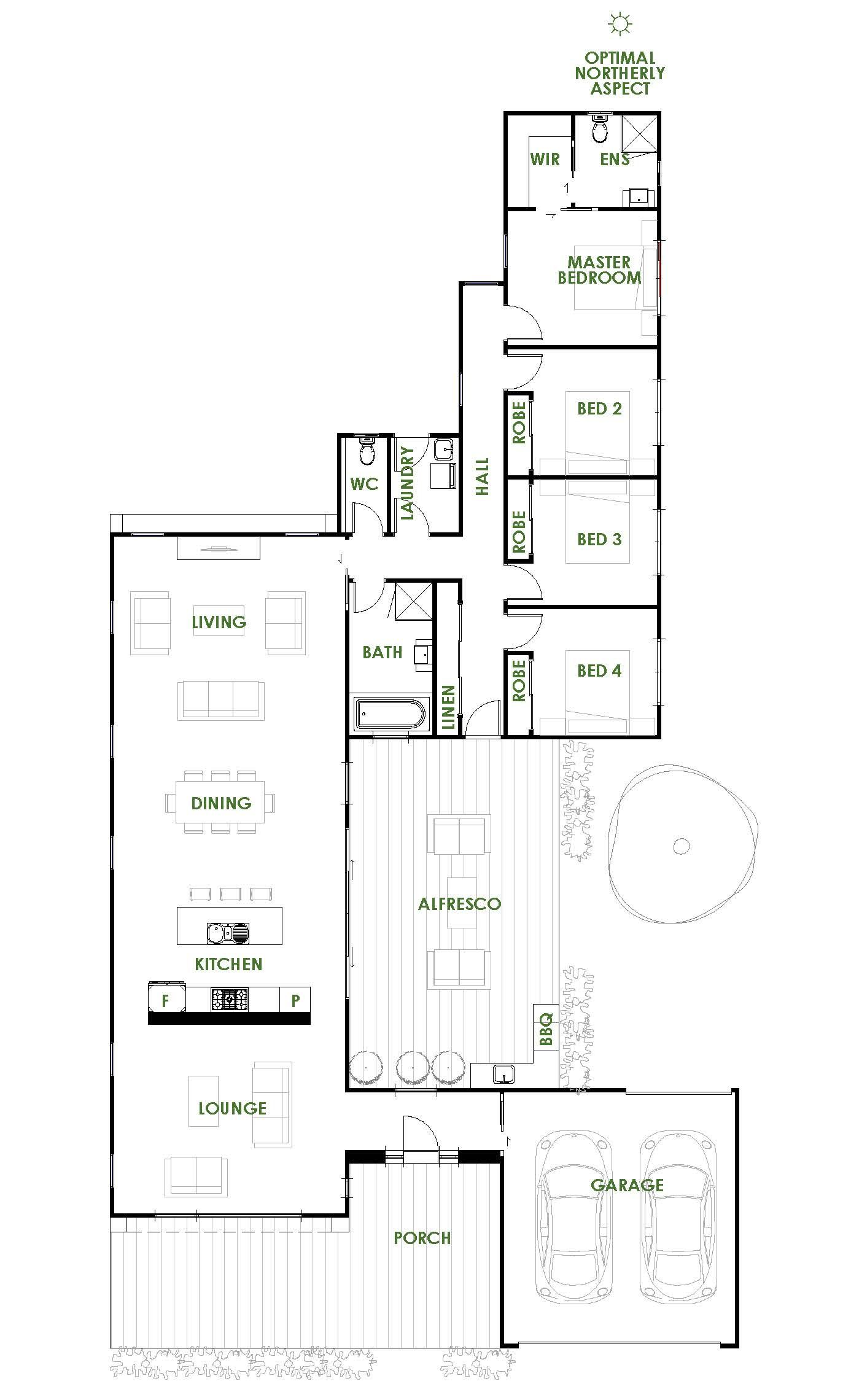 The Gippsland Is An Energy Efficient Architecturally Designed Home Exclusive To Green Homes Au Planos De Casas Planos De Casas Medidas Planos De Casas Modernas