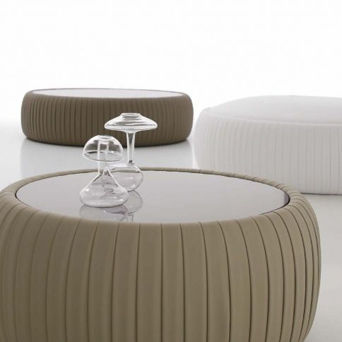 Cassoni Plisse cocktail ottoman with mirrored top. So sexy. | COFFEE ...