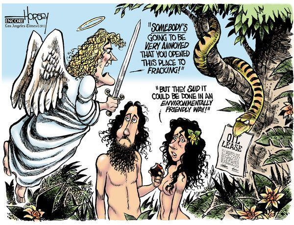 Fracking the Garden of Eden