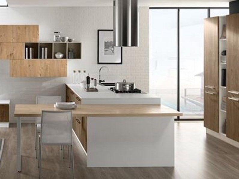 Cucina moderna lineare Brio o Clio Mobilturi cucine in vari colori ...