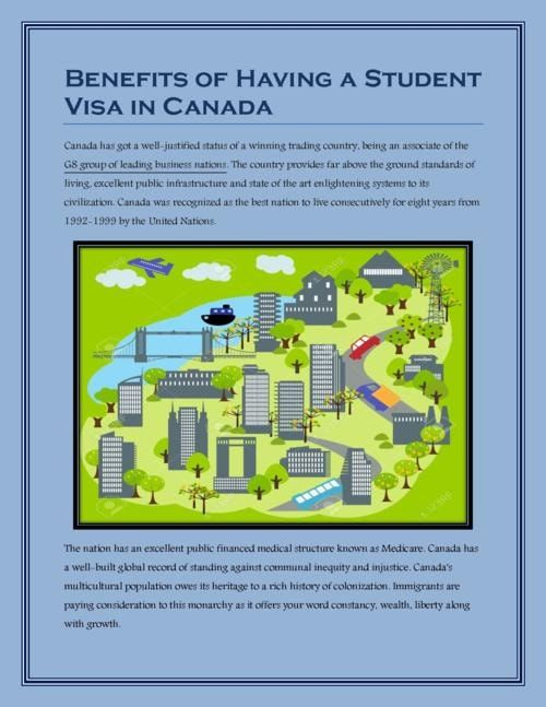 Benefits Of Having Immigration Student How To Apply Public