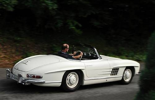 1957 Mercedes 300SL Roadster Chassis no. 198 042 7500544. Engine no. 198 980 5500599. Sold for €370,500 Créée dans le but de...