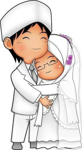 Pin Oleh Emre Turan Di Arabic Art Muslim Gambar Gambar Pengantin Kartun