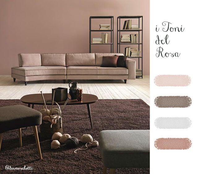 Scegliere il colore per la parete i toni del rosa - Colorare pareti cucina ...