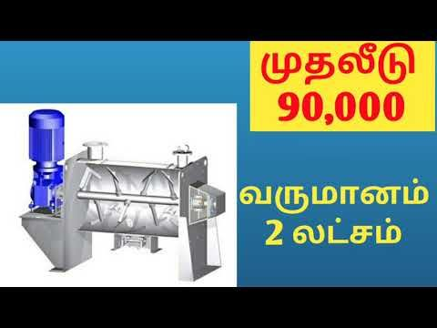 Small business ideas in tamil,business ideas in tamil,siru ...