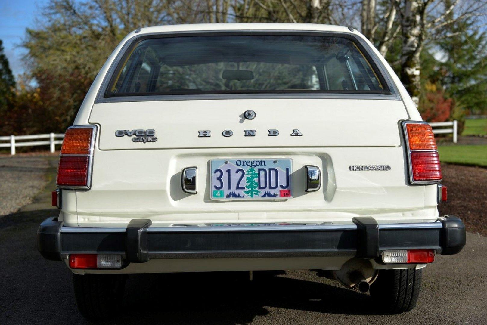 1979 Honda Civic, 1488cc CVCC inline 4. 1st generation. 67
