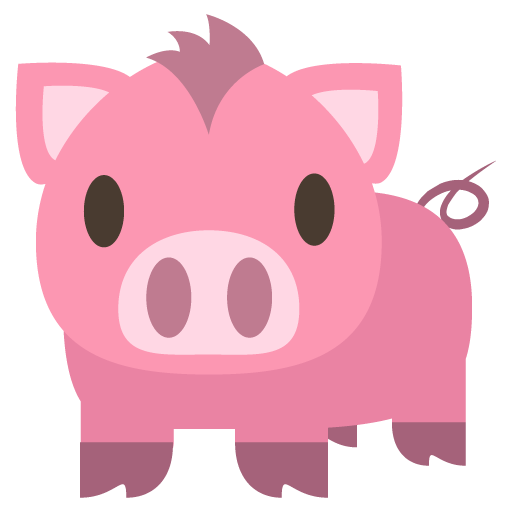 File Emoji U1f437 Svg Wikimedia Commons Emoji Android Emoji Dog Vector